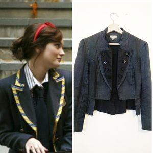 Urban Outfitters pinstripe blazer